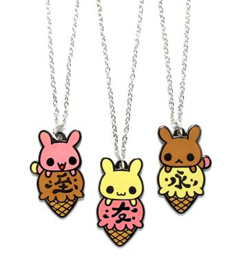 Neapolitan BFF Necklaces