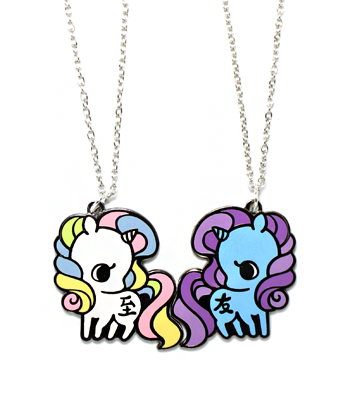 """Best Friends"" Unicorn Necklaces"