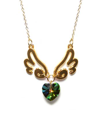 Golden Wings of Love Necklace