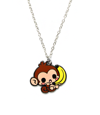 Chittering Monkey Necklace