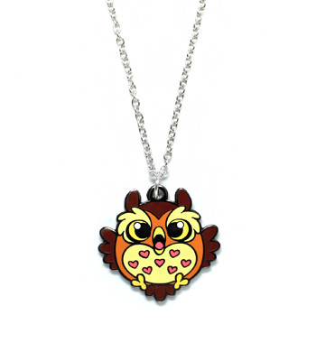 ORLY Owl Necklace