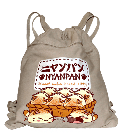 Nyanpan Basket Cinch Bag