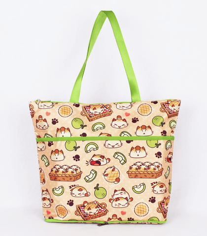 Nyanpan Folding Tote Bag