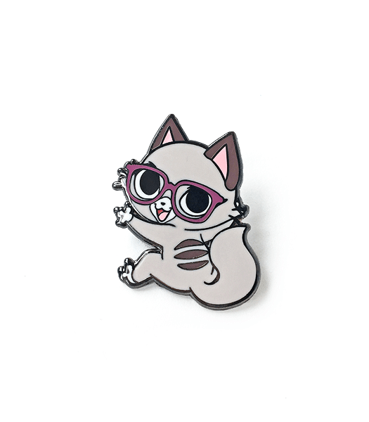 Pixel Cat Enamel Pin