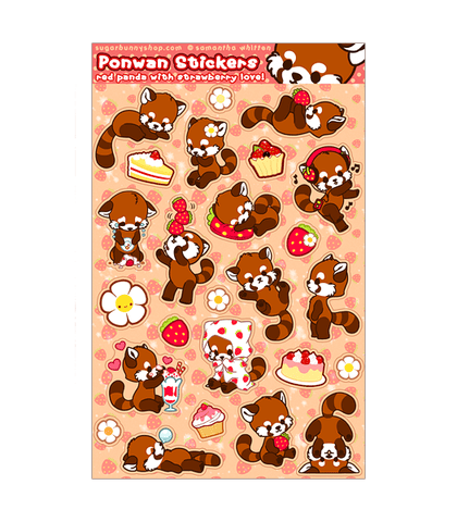 Ponwan Sticker Sheet