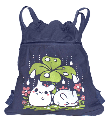 Clover Puddle Bunnies Cinch Bag