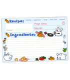 Puddle Bunnies recipe cards