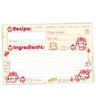 Cupcake Kitties Recipe Cards