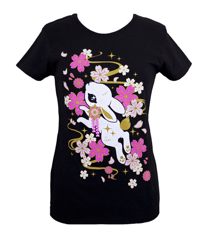 Sakura Bunny Bliss Ladies Shirt