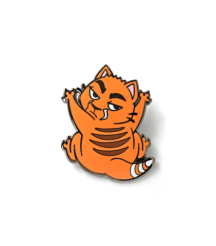 Sweet Cat Clinging Enamel Pin
