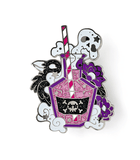 Sweet Poison enamel pin