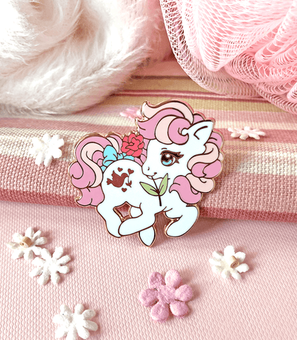 Valentine's Little Pony Enamel Pin Set 4 - Truly