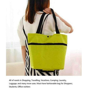 Foldable Shopping Trolley Tote Bag✅FREE Shipping- Cash On Delivery!