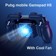Load image into Gallery viewer, Mobile Game Controller With Cooling Fan and Powerbank