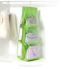 Load image into Gallery viewer, 6 Pocket Foldable Hanging Bag