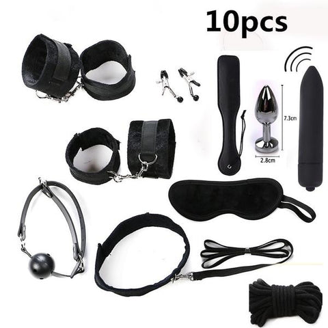 Image of Erotic BDSM Ticklers And Restraint Kit Accessories For Bondage Fetish