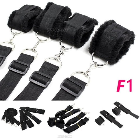 11 Type Erotic Bed Positioning Restraint Kit