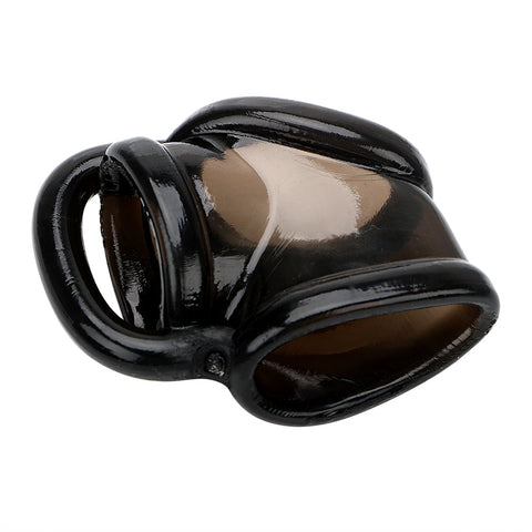 Male Silicone Penis Ring Chastity Device