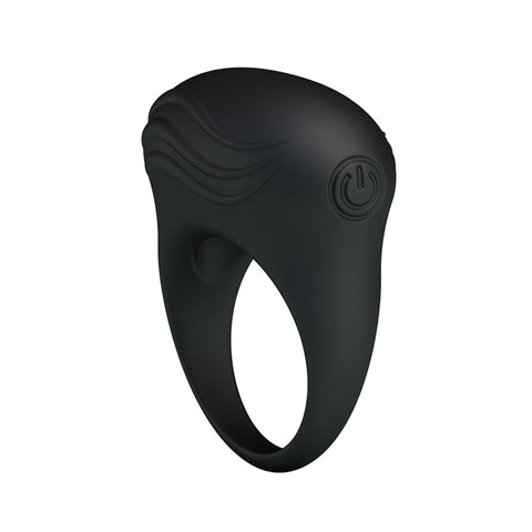 Image of Silicone Vibrating Cock Ring For Men