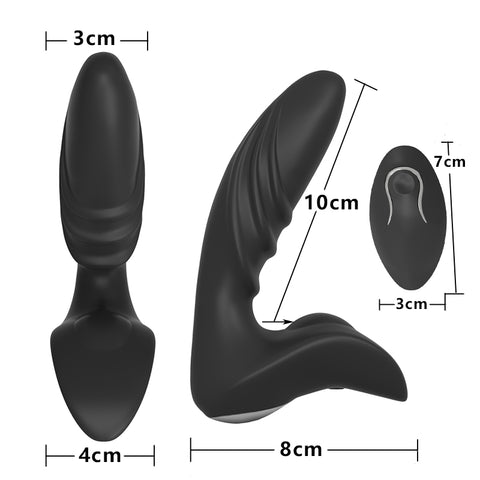 Image of Wireless Remote Control Anal Vibrator And Prostate Massager