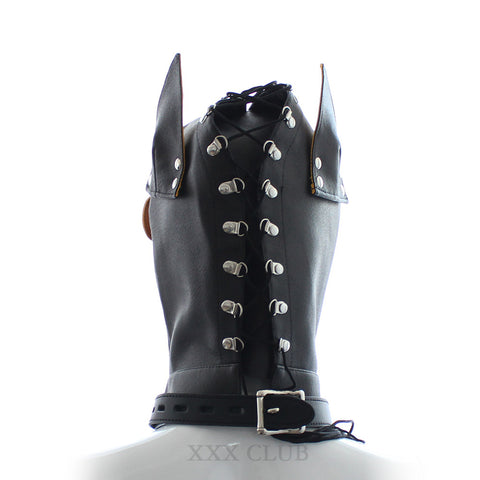 Puppy Play Dog Tail Butt Plug And Dog Hood With Muzzle