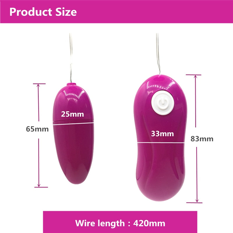12 Speed Mini Bullet Vibrator Egg