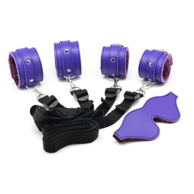 BDSM Restraining Kit For Adult Games