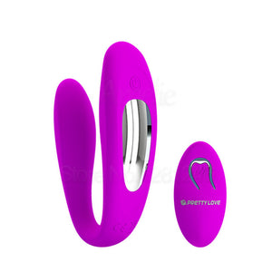 Remote Controlled G Spot And Clitoris Vibrator