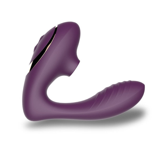 Wearable G-Spot Sucking And Vibrating Sex Toy With 10 Frequencies