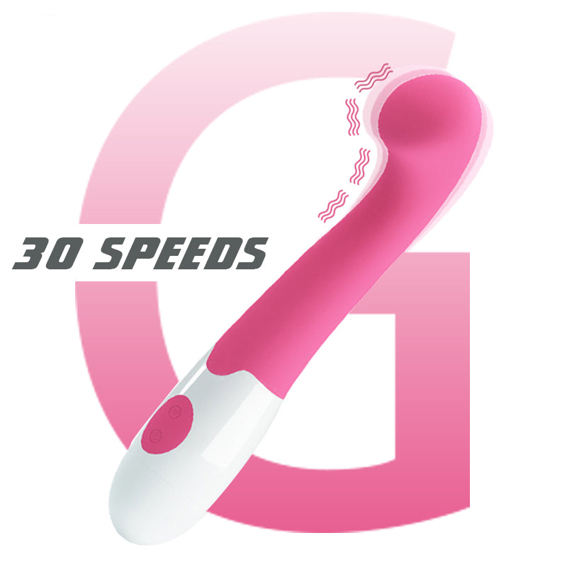30 Speed Silicone Dildo Vibrator With Anal Hook