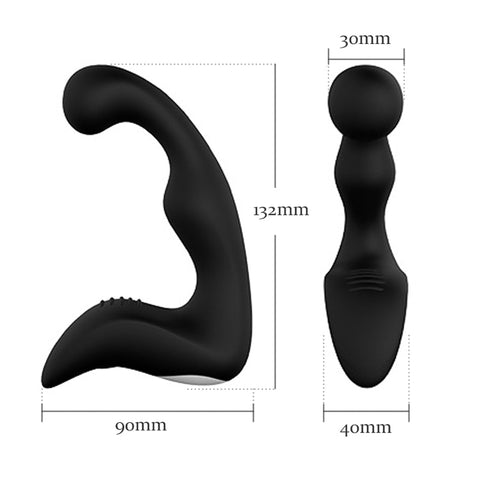 10 Modes C-Type Prostate Massage And Anal Vibrator