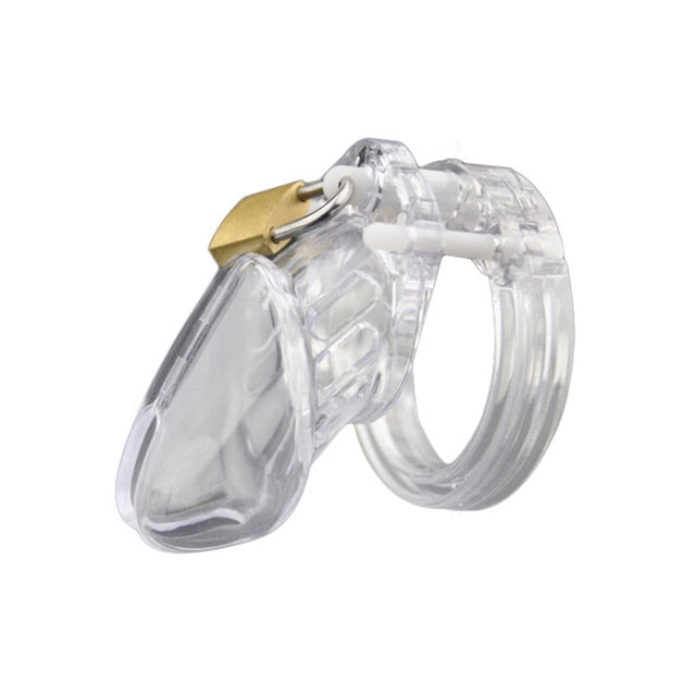 Silicone Male Penis Chastity Device Chastity Cage Lock