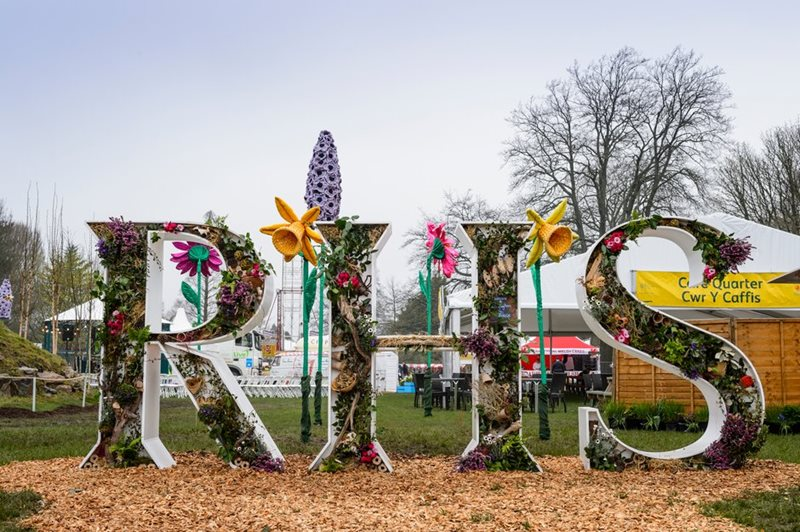 RHS flower show Hampton Court 2021