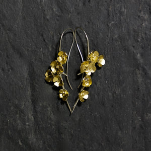 Apple Blossom Large Drop Earrings