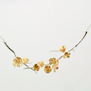 Apple Blossom Bough Necklace