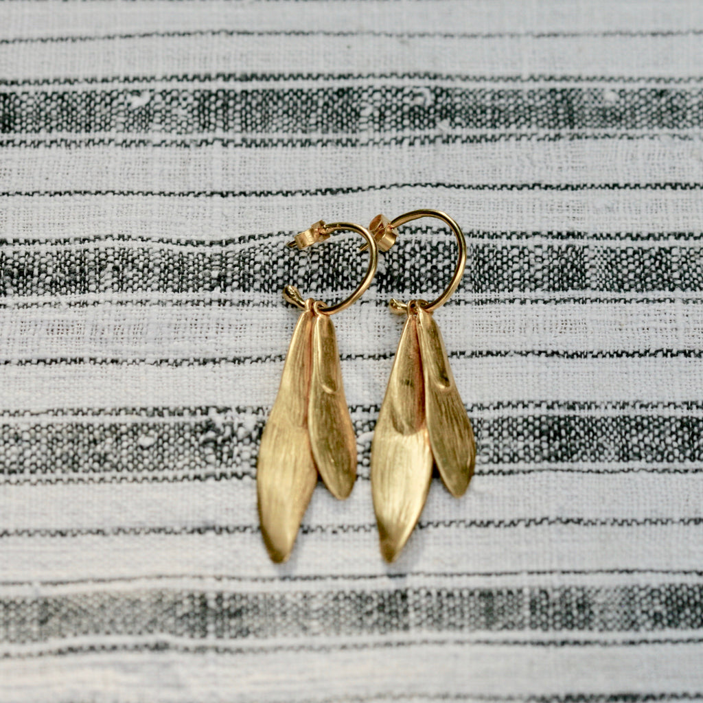 Ash Key Long Earrings