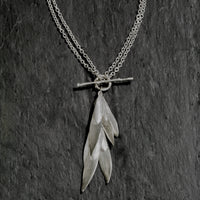 Ash Key Double Necklace