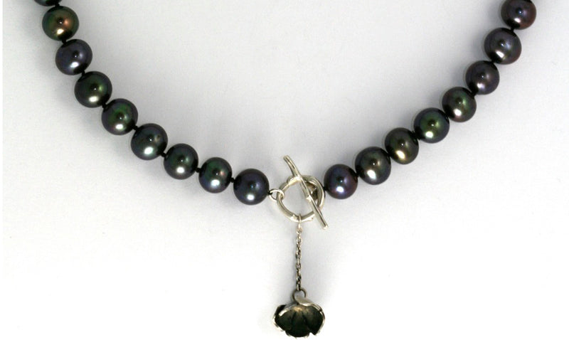 Pearl and Buttercup Necklace