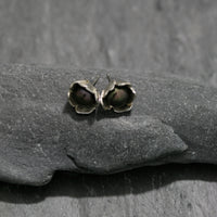 Buttercup and Pearl Stud Earrings