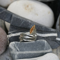 Californian Poppy Ring
