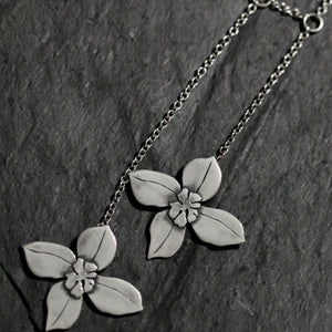 Clematis Double necklace