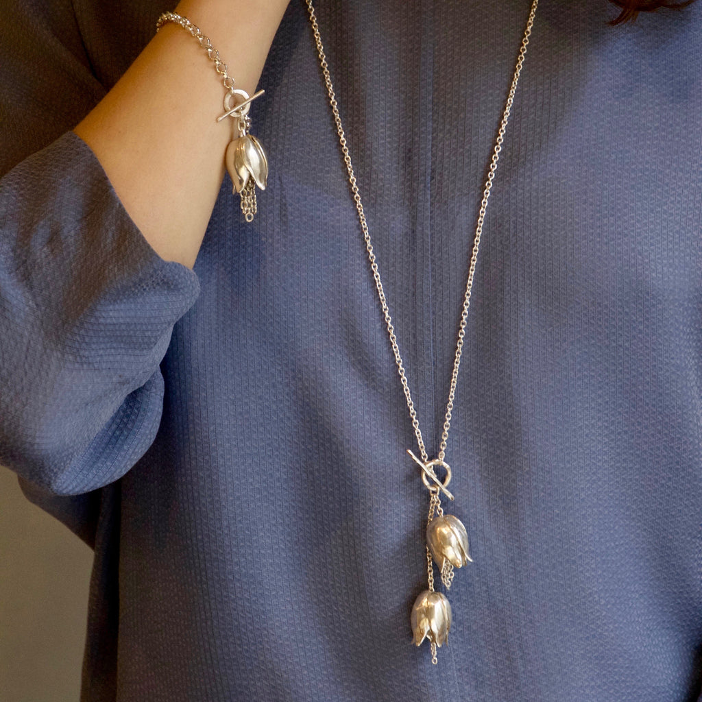 Fritillaria Double Necklace