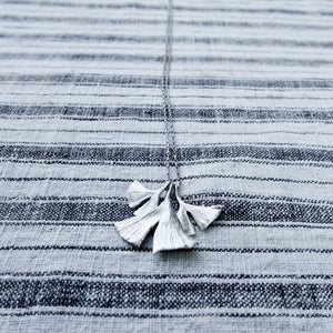 Gingko Long Necklace