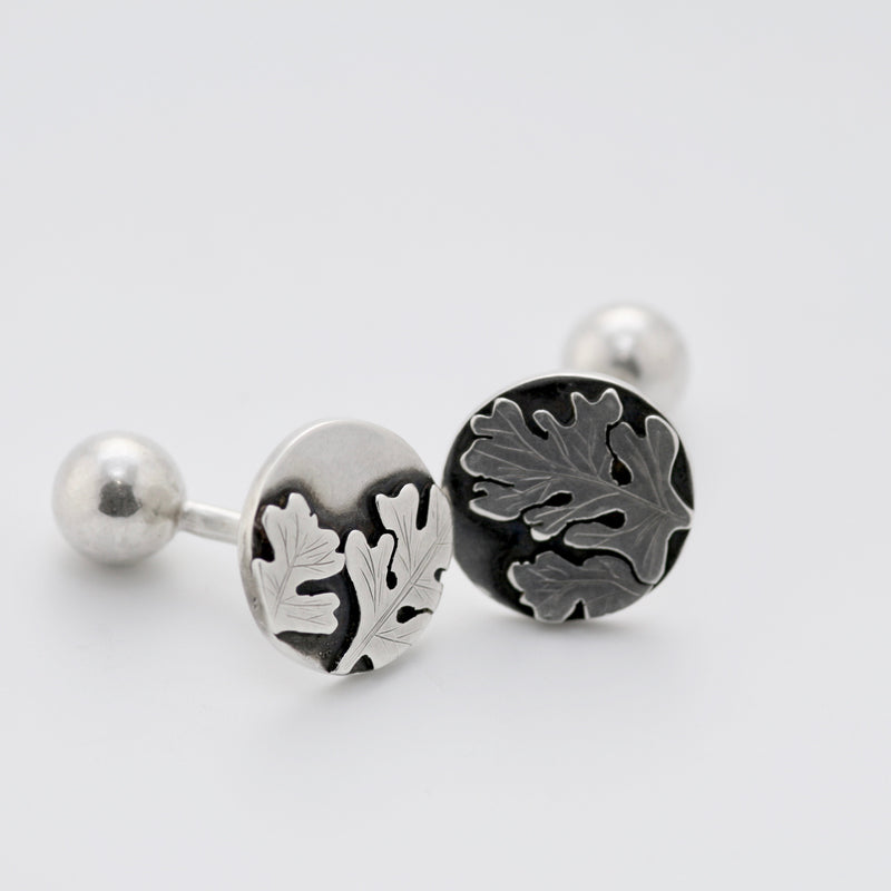 Oak Leaf Cufflinks