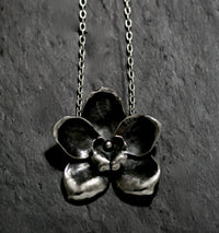 Large Orchid Necklace