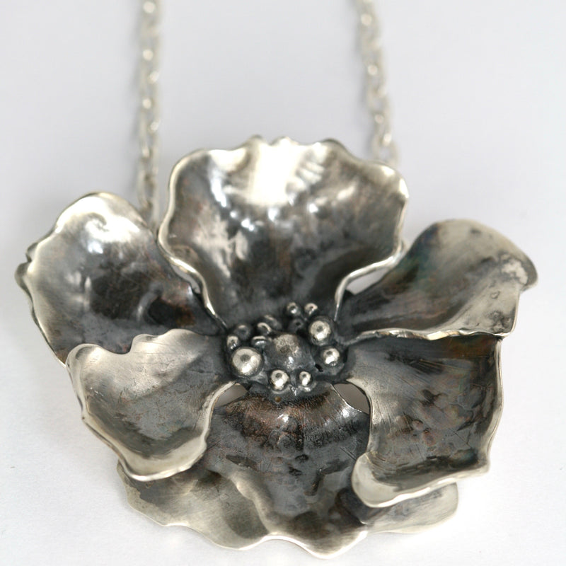 Large Poppy Necklace