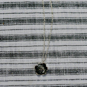 Small Wild Rose Necklace