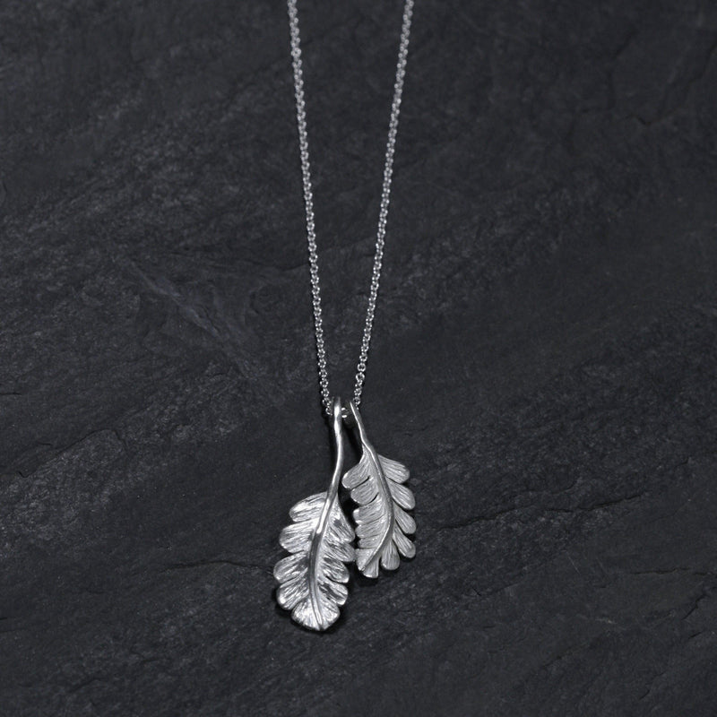Oak Leaf Double Necklace