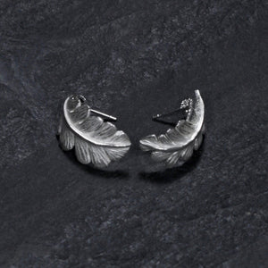 Oak Leaf Stud Earring