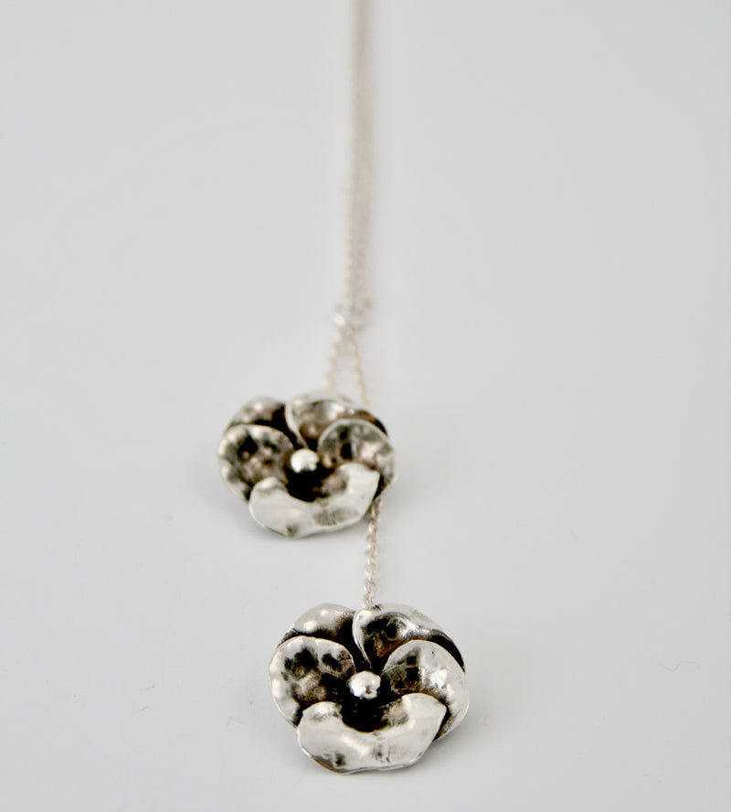 Pansy Double Necklace